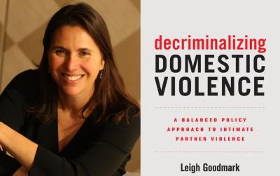 SCRJI Co-sponsors Talk by Professor Leigh Goodmark on Decriminalizing Domestic Violence